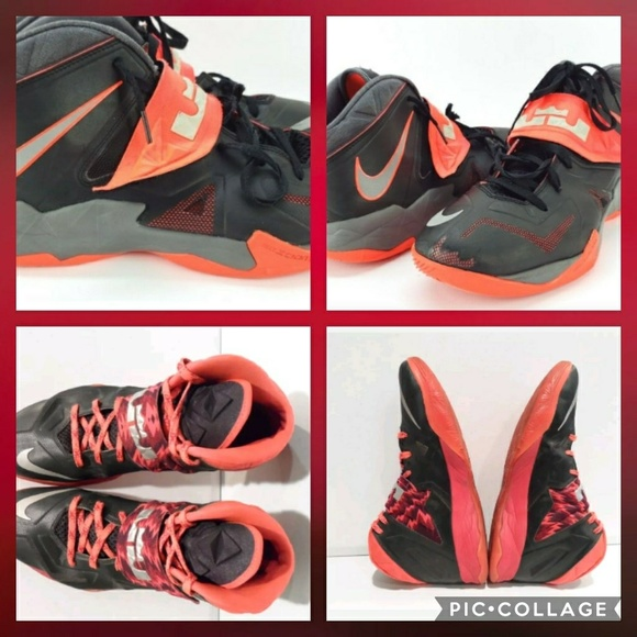 0891693d4345e0 Nike LeBron Zoom Soldier VII Size 9 Sneakers. M 5c34ad409539f70c342d1c77
